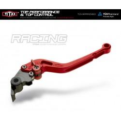 Levier de frein Titax Racing Normal Rouge R22