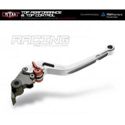 Levier de frein Titax Racing Normal Argenté R22