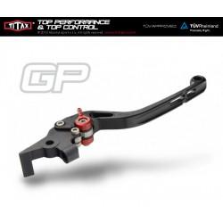 Levier de frein Titax GP Normal Noir R22