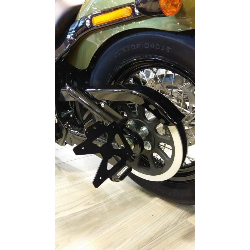 Support De Plaque Latéral Accessdesign Pour Harley