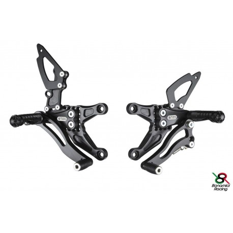Rear Sets Bonamici Racing - Kawasaki ZX-6R 05-06
