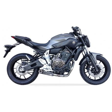 Ligne complète Ixil SX1 - carbon Yamaha MT-07 14/+ Tracer 700 16/+ XSR 700 14/+