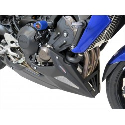 Bugspoiler Powerbronze Lack schwarz silbermes Gewebe für Yamaha MT-09 17/+