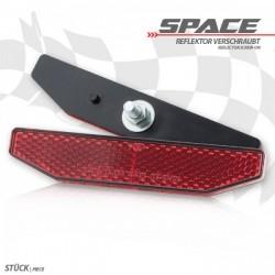 "Reflektor \""Space\"", 6-eckig, rot"