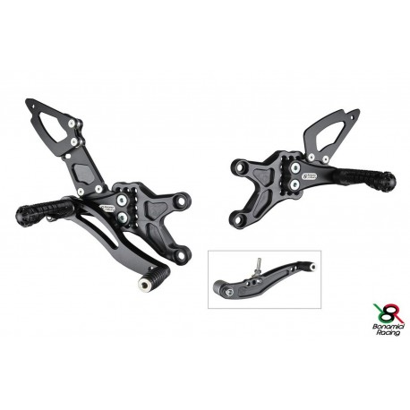 Rear Sets Street Bonamici Racing Honda CBR 600RR 07-17
