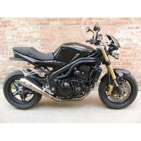 Auspuff Zard Conic inox -Triumph Speed Triple 2011-16