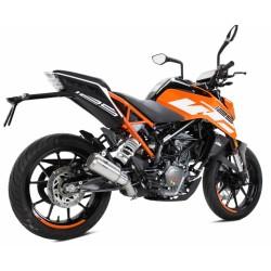 Auspuff Ixrace MK02 für Ktm Duke 125 - 390 17 /+ - RC 125 - 390 17/+