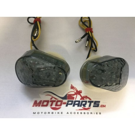 Moto-Parts Led-Blinker smoke Verkleidung Kawasaki