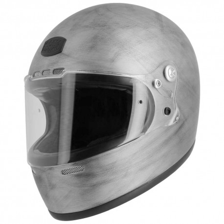 Casque Astone GT Retro gris