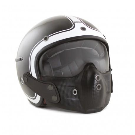 Harisson helmet Corsair Gloss black white