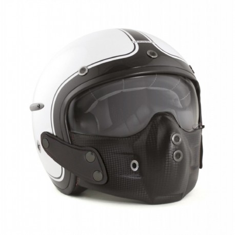 Harisson helmet Corsair Gloss white black
