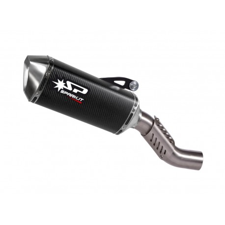 Exhaust Spark Force Carbon - Ducati Monster 1200 / S 14-16