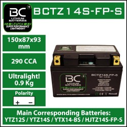 BC Lithiumbatterie BCTZ14S-FP-S