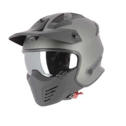 Astone Helm Elektron matt gun metal