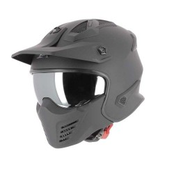Astone Helm Elektron schwarz matt