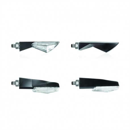 Chaft Led-Blinker Zoom schwarz / transparente