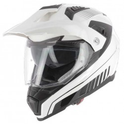 Casque Astone Crossmax Shaft blanc