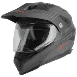 Astone helmet Crossmax S-Tech black/grey