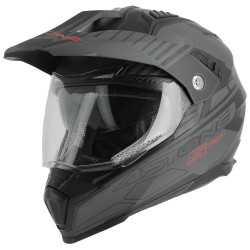 Casque Astone Crossmax S-Tech Gris/noir