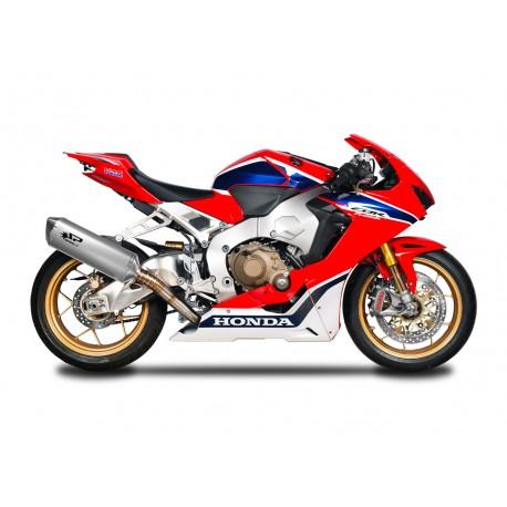 Ligne complète Spark Force 350 Full titane 102 db - Honda CBR 1000 RR/SP1/SP2 - 17/18