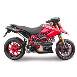 Auspuff Spark rund - Ducati Hypermotard 796 (09-12) // 1100 / S / EVO / SP 07-12