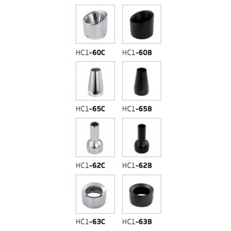 End caps conical Ironhead HC1-65C chrom