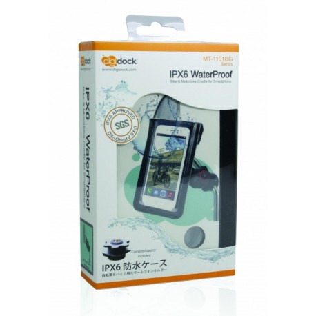 Digidock Support for Smartphone on the rear-view mirror screw