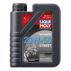 Huile moteur LIQUI MOLY Motorbike HD Synth 20W-50 Street
