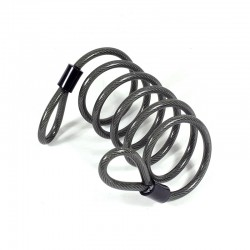 Motorcycle Helmet Cable without Padlock