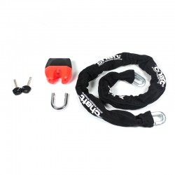 Chain with tough double locking padlock Magnum