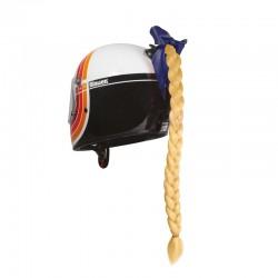 Décoration casque tresse