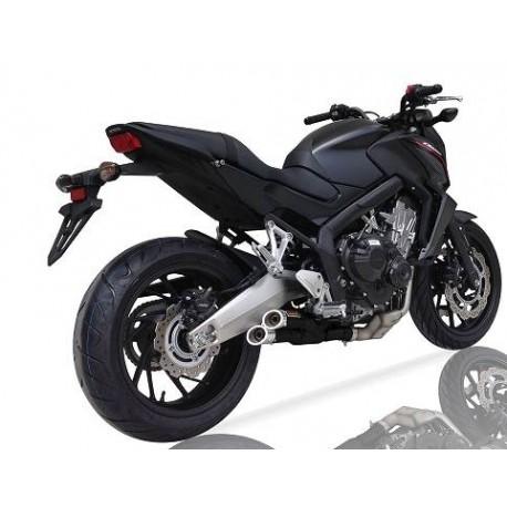 Komplettanlage Ixil Dual hyperlow für Honda CB650F / CBR650F 14-18 // CB650R 19/+ // CBR650R 19/+
