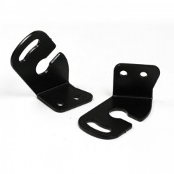 Bracket for Aprilia / BMW / Ducati / Triumph / Yamaha, using original indicators, black