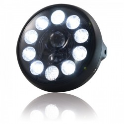 "LED headlights 190mm ""British Style\"""