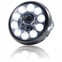 "Phares à LED 190mm \""British Style\"""