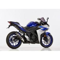 Auspuff Shark Street GP carbon für Yamaha YZF-R3 15/+
