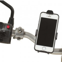 Smartphone Halterung am Lenker