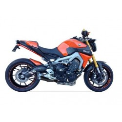 Komplettanlage Ixil Dual Hyperlow schwarz - Yamaha MT-09 13/+ Tracer 900 15-17 / XSR 900 16/+