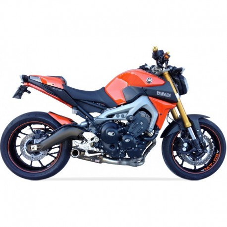 Full line Ixil SX1 carbon - Yamaha MT-09 2013-20 XSR 900 2016-20