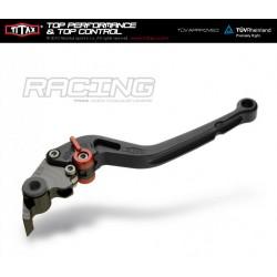 Titax Kupplungshebel Racing Normal Schwarz L20