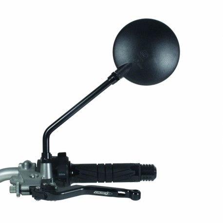 Rear-view mirror Chaft Reversible Round Black