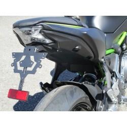 Grossrieder-import Kennzeichenhalter für Kawasaki Ninga 650 / Z650 17/+