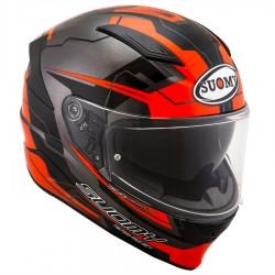 Suomy Helmet Speedstar Camshaft Orange/Grey
