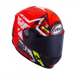 Suomy Helm SR Sport - Stars Orange