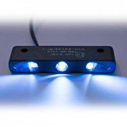 "Eclairage de plaque LED + support ""Trio\"""