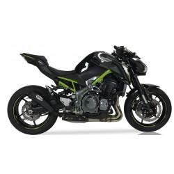 Auspuff Ixil Slash Cone Xtrem Black für Kawasaki Z900 16-19 // A2 17-19 // A2 2020 |Schwartz
