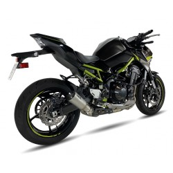 Auspuff Ixil Race Xtrem für Kawasaki Z900 16-19 // A2 17-19 // A2 2020 | Silber