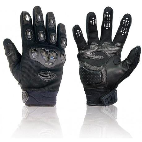 Handschuhe Darts Warrior schwarz