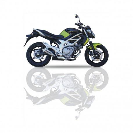 Auspuff Ixil Dual Hyperlow L2X - Suzuki SVF 650 Gladius 09-16