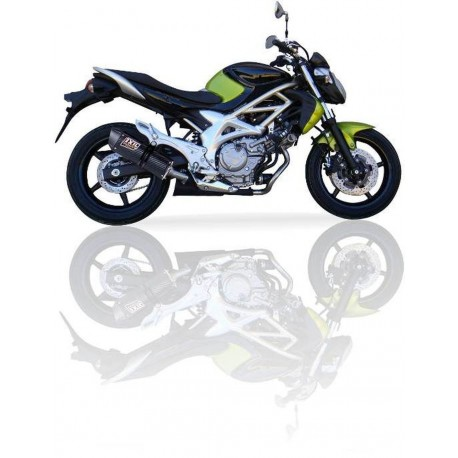 Auspuff Ixil Hexoval carbon - Suzuki SFV 650 Gladius 09 -16